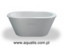 CLEAR WATER BATHS nouveau petite wanna wolnostojąca 1500 x 800 x 630 mm M2A
