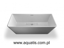 CLEAR WATER BATHS patinato wanna prostokątna 1700 x 800 x 540 mm N3B